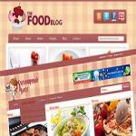 Template Food Blog