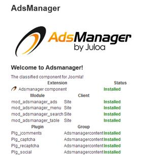 r adsmanager message