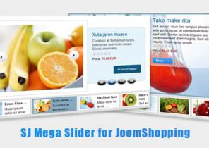 sj mega slider for joomshopping